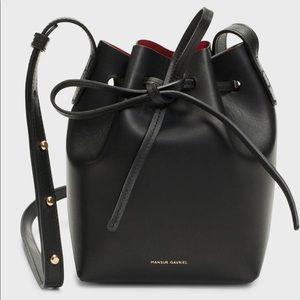 NWT Mansur Gavriel mini mini bucket bag